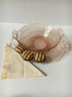Check out this item in my Etsy shop https://www.etsy.com/listing/509957549/vintage-pink-depression-glass-set