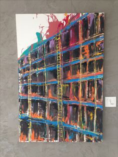 Pintura em tela 120x80 cm