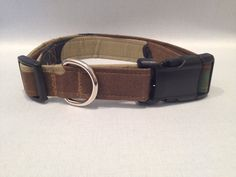 Camouflage Dog Collar by ALeashACollar on Etsy