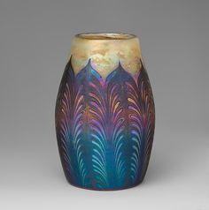 Vase - Designer: Designed by Louis Comfort Tiffany (American, New York 1848–1933 New York) Maker: Tiffany Furnaces Date: ca. 1906