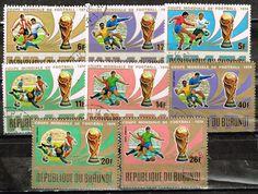 Burundi Sport Soccer FIFA World Cup West Germany stamps 1974    eBay