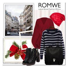 """Romwe 8/7"" by amelaa-16 ❤ liked on Polyvore featuring mode, Proenza Schouler, women's clothing, women's fashion, women, female, woman, misses en juniors"