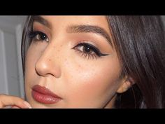 winged eyeliner tips for hooded eyes + an announcement! - YouTube