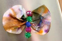 Tie-Dye Butterfly Magnet