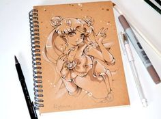 So beautiful new art work by; Lighane's <3  Source by;http://lighane.tumblr.com/search/sailor+moon