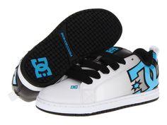 DC SHOES Court Graffik SE Skate Shoes Sneakers Model 300927 Turquoise/Black Fade #DCShoes #FashionSneakers