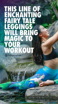 Need some magic in your workout? Fit Rebel has you covered with their new Fairy Tale line! Here's why we're obsessing over these magical fairy tale leggings