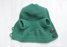 Honey teddy bear - hoodie crochet pattern
