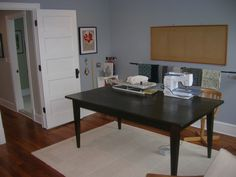 Before and after – Sewing room | Helter Shelter DC