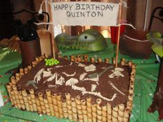 Paleontologist Dinosaur Dig Cake from ALTERED ARTIFACTS