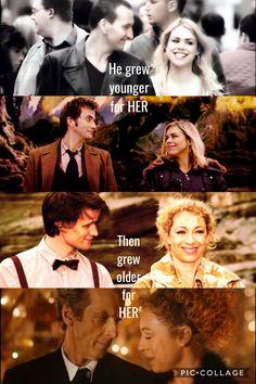 #doctorwho #riversong #rosetyler #nine #ten #eleven #twelve