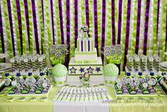 Buzz Lightyear Party Decoration.  LOVE!