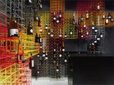 Awesome wine display