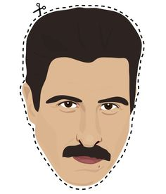 "I heart Pornstache. | Print Out These ""Orange Is The New Black"" Masks"