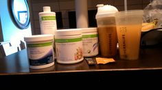 #Morning #routine Every morning I drink 1L of #Niteworks, #Fiber, #Beautydrink, #Aloe, #Liftoff and #Hydrate. #Herbalife products has helped me #improved #digestion, #increase #energy and #metabolism