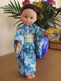 Chloé de Corolle - 2ème Kimono 1 (Biquette & Bichette)