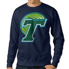 NCAA Tulane Green Wave Athletic Crew Adult Sweatshirt - Brought to you by Avarsha.com