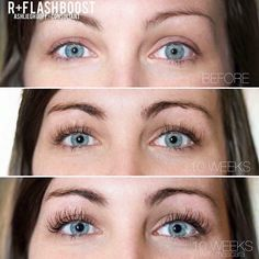 Get longer and fuller looking lashes with Lash Boost from Rodan and Fields! Longer Eyelashes, Long Lashes, False Lashes, Long Lash Mascara, Ardell Lashes, Lash Boost Results, Rf Lash Boost, Rodan Fields Lash Boost, Rodan And Fields Business
