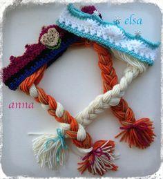 Frozen Inspired Custom Made Anna and Elsa by KARASKREATIONSbykara, $20.00