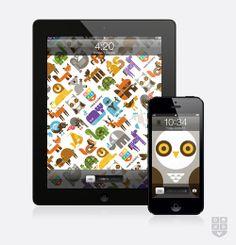My Owl Barn: Free iPhone and iPad Wallpaper