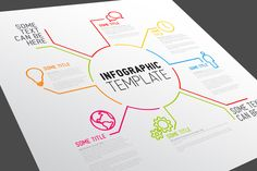 Vector Infographic Template by Orson on Creative Market