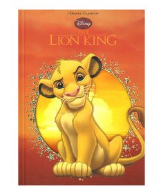 Another great find on #zulily! Disney Classics The Lion King Hardcover #zulilyfinds