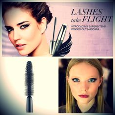 Try Avon's new SuperExtend Winged Out Mascara! Buy now from youravon.com/aprater