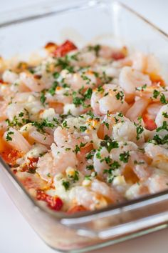 Shrimp, Feta and Tomato Bake Recipe