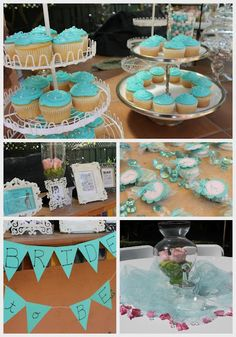 Breakfast at Tiffanys shower. @operationido ... ... ... ... ... ...this gave me the idea of MACAROONS for the wedding favors!!