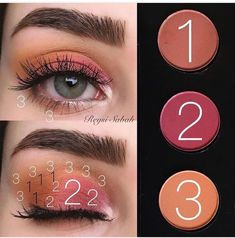 Gorgeous Makeup: Tips and Tricks With Eye Makeup and Eyeshadow – Makeup Design Ideas Makeup Goals, Makeup Inspo, Makeup Art, Makeup Inspiration, Makeup Tips, Eye Makeup Remover, Skin Makeup, Eyeshadow Makeup, Eyeshadow Palette