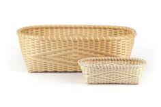 Diamond Twill Bureau baskets by JoAnn Kelly Catsos, hand pounded black ash.  JASkets Blog: 2013 JoAnn Kelly Catsos Workshop