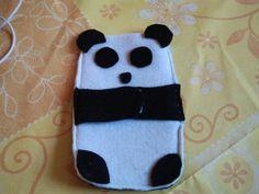 Diy panda case, made by Emily <3