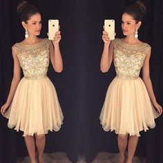Cute Homecoming Dresses,Sparkly Beaded Homecoming Dresses,2016 HOCO Dresses,apd1776