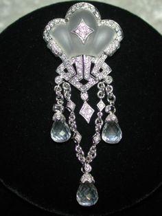 Antique-Edwardian-c-1910-18k-gold-diamonds-rock-crystal-brooch-y85p61