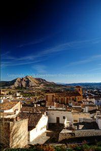 View over Velez Blanco, Almeria, Spain