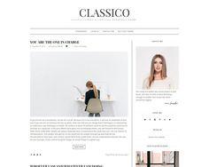 Classic Wordpress Theme - Classico by @Graphicsauthor