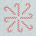 Free Block Pattern: Candy Canes from Quilters Newsletter
