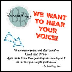 Do you have a child with #specialneeds ? We want to know more about you and your life #burritobuzzamanda #series #interview #yourlife #parentingspecialneeds #parentingspecialneedsmagazine #burritobuzz #coffee #saturday #sotired #kids #toddler #baby #lifewithkids #nosleep #babies #mombie #instagood #parenting #momlife #saturdaze #instabuzz #blog #momblog #parentingblog