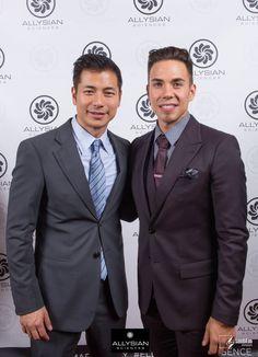 - Our Co-founders Rod Jao and Apolo Ohno  #RodJao   #ApoloOhno   #AllysianSciences