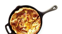This Apple Dutch Baby recipe will be fabulously puffed when it comes out, and you'll enjoy hearing the oohs and aahs before it deflates.