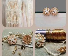 #lace #handmade #jewelry #weddingcrafts