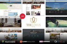 Lotus - Hotel Booking WordPressTheme by EngoCreative.com on @creativemarket