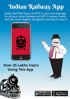 Now No need to call the indian Railway Enquiry center at 139 and no need to keep waiting for a reply for cutomercare, as now track your train ticket PNR status on irctc app and it is more faster then other irctc app.