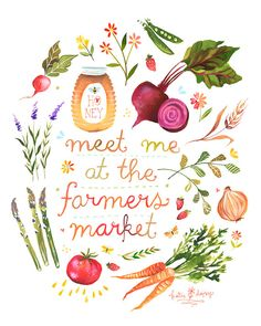 Farmers+Market++++++vertical+print+by+thewheatfield+on+Etsy,+$18.00