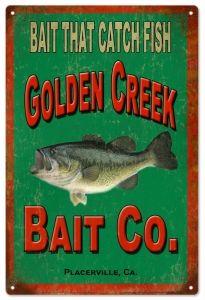 Golden Creek Bait Co.Fishermans Sgin -