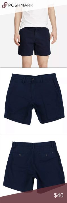 Polo Ralph Lauren Shorts 12 18 24 M Ribbed Elastic Waist Chino NWT Navy Blue