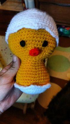 Chick made by Krista Smth pattern by Juffrouw Hutsekluts