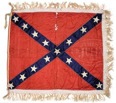 CONFEDERATE BATTLE FLAG OF CONFEDERATE GENERAL LLOYD TILGHMAN.