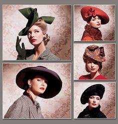 V7464 Vintage Hats | 1930s