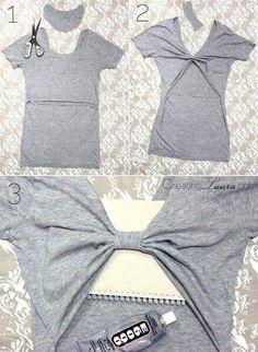 Para modificar un t shirt que no te gusta